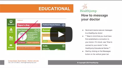 How to message to your doctor?