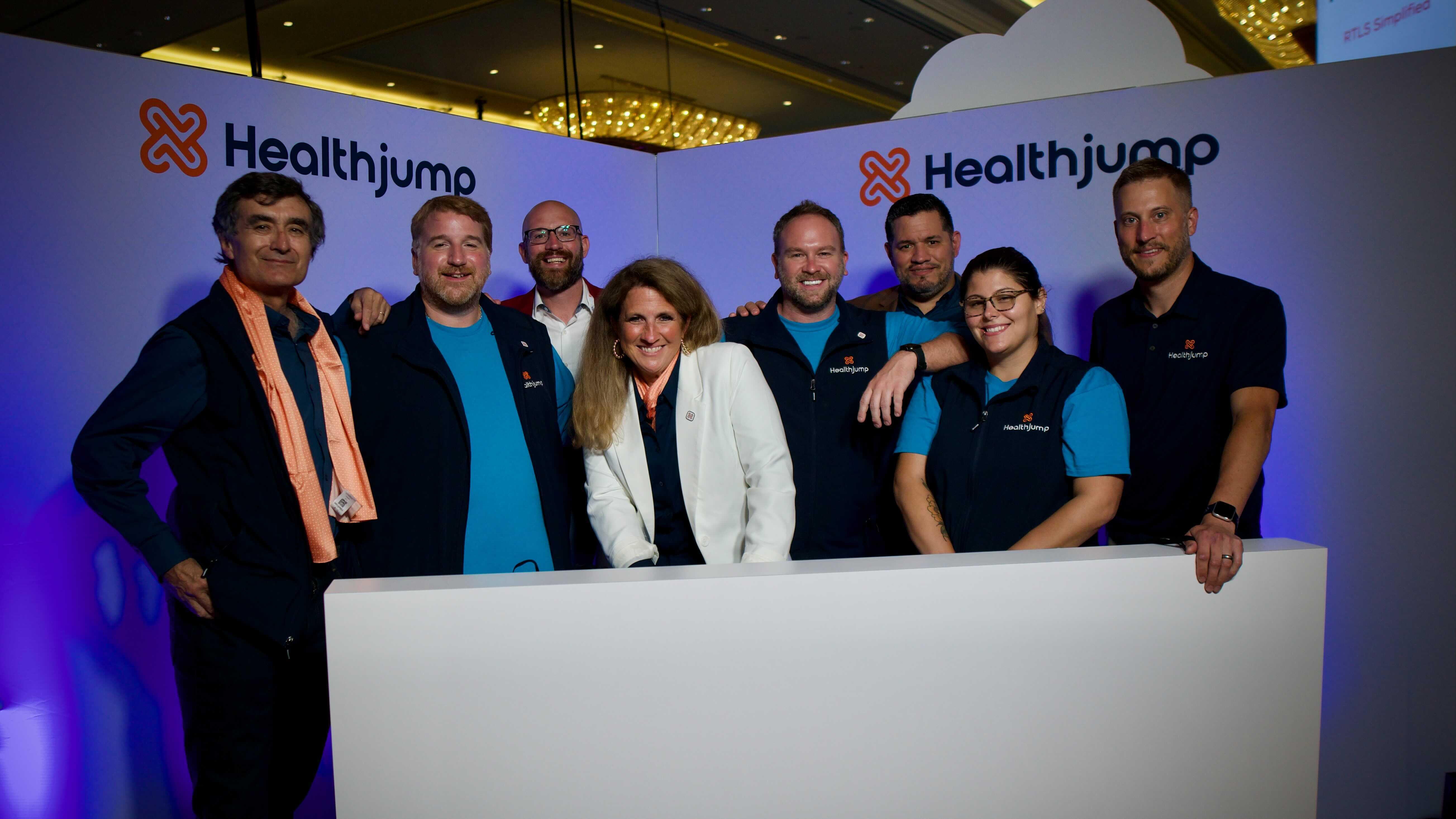 Some of the team members at Healthjump