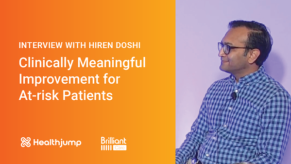 INTERVIEW: Clinically Meaningful Improvement for At-risk Patients